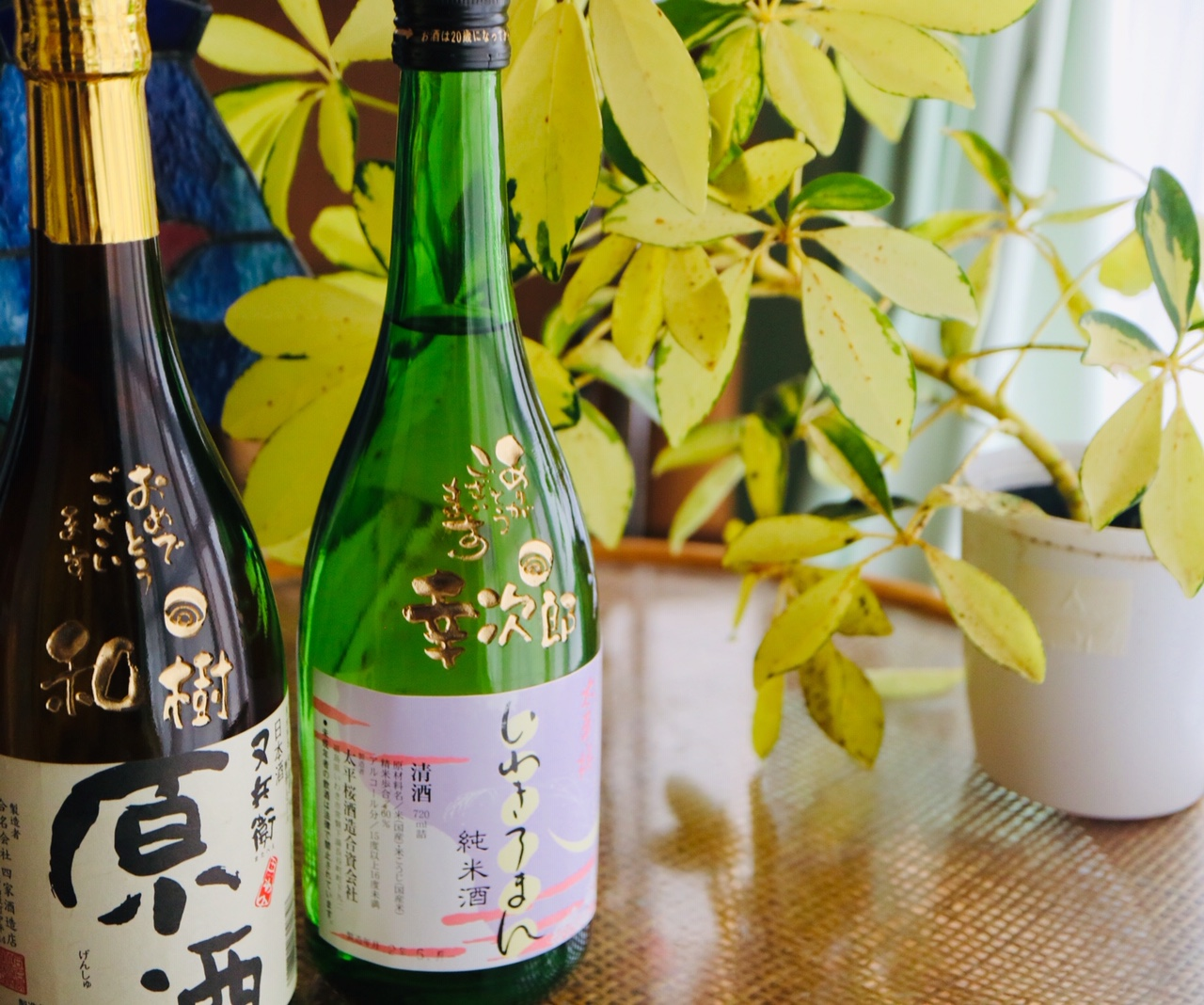 美酒ぞろいの福島県のお酒に名入れ彫刻します♬