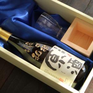 名入れ酒グラス&檜升に~おいしい福島県のお酒を!