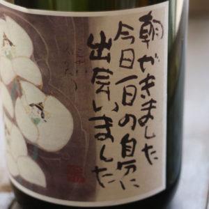 福島県いわき市産~極上「純米酒」3本&名入れ酒グラス&檜升セット!