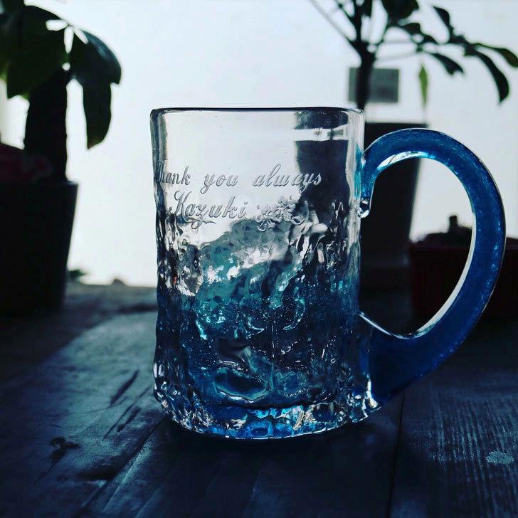 8月スタート!琉球ビアジョッキで乾杯♪