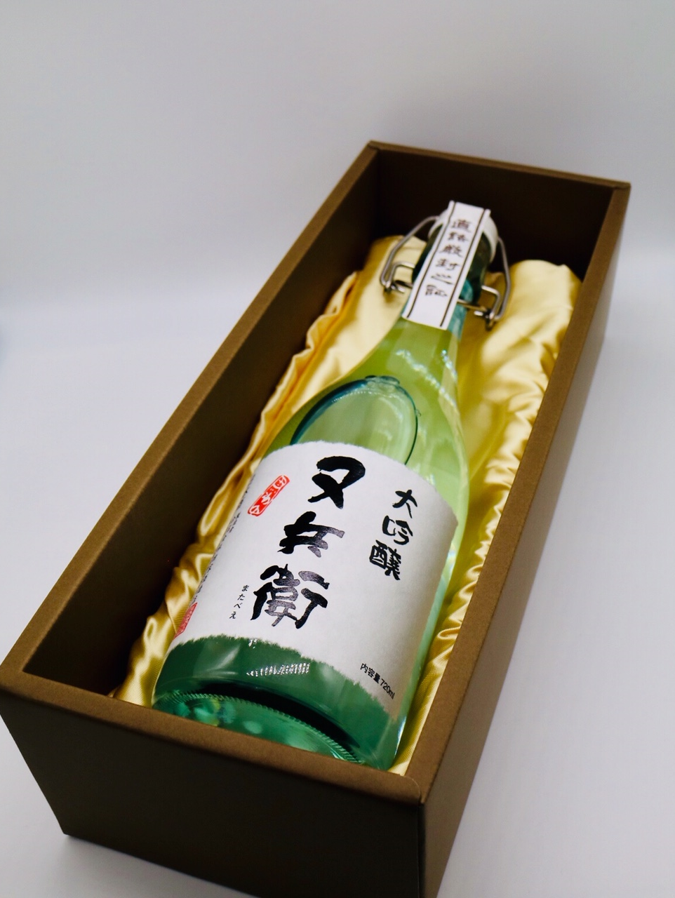 福島県の美味しいお酒に名入れ彫刻して全国へ♪